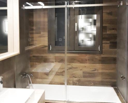 Καμπίνα μπάνιου συρόμενη