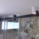 Γυάλινη πόρτα ντουζιέρας από τη Ribas Glass