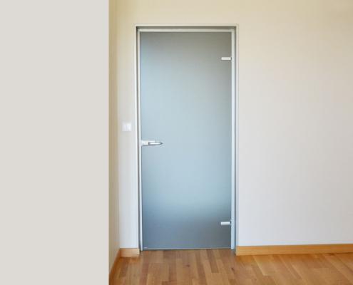Γυάλινη πόρτα μπάνιου