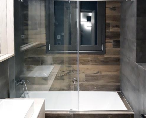 Καμπίνες μπάνιου συρόμενες