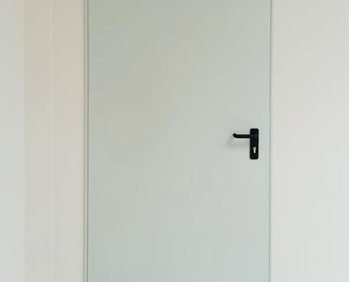 Πυρασφαλής μεταλλική πόρτα