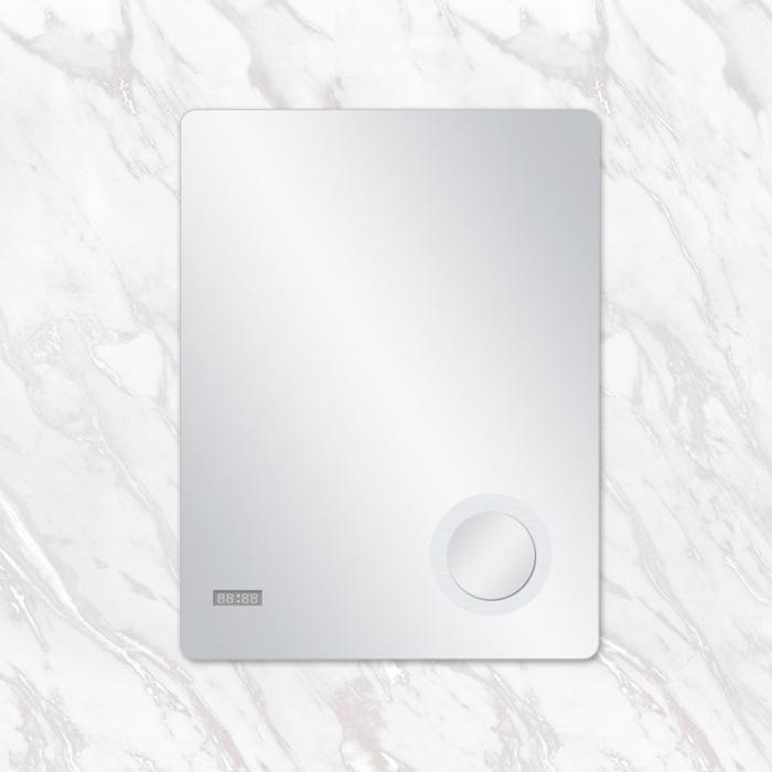 Καθρέπτης με ρολόι